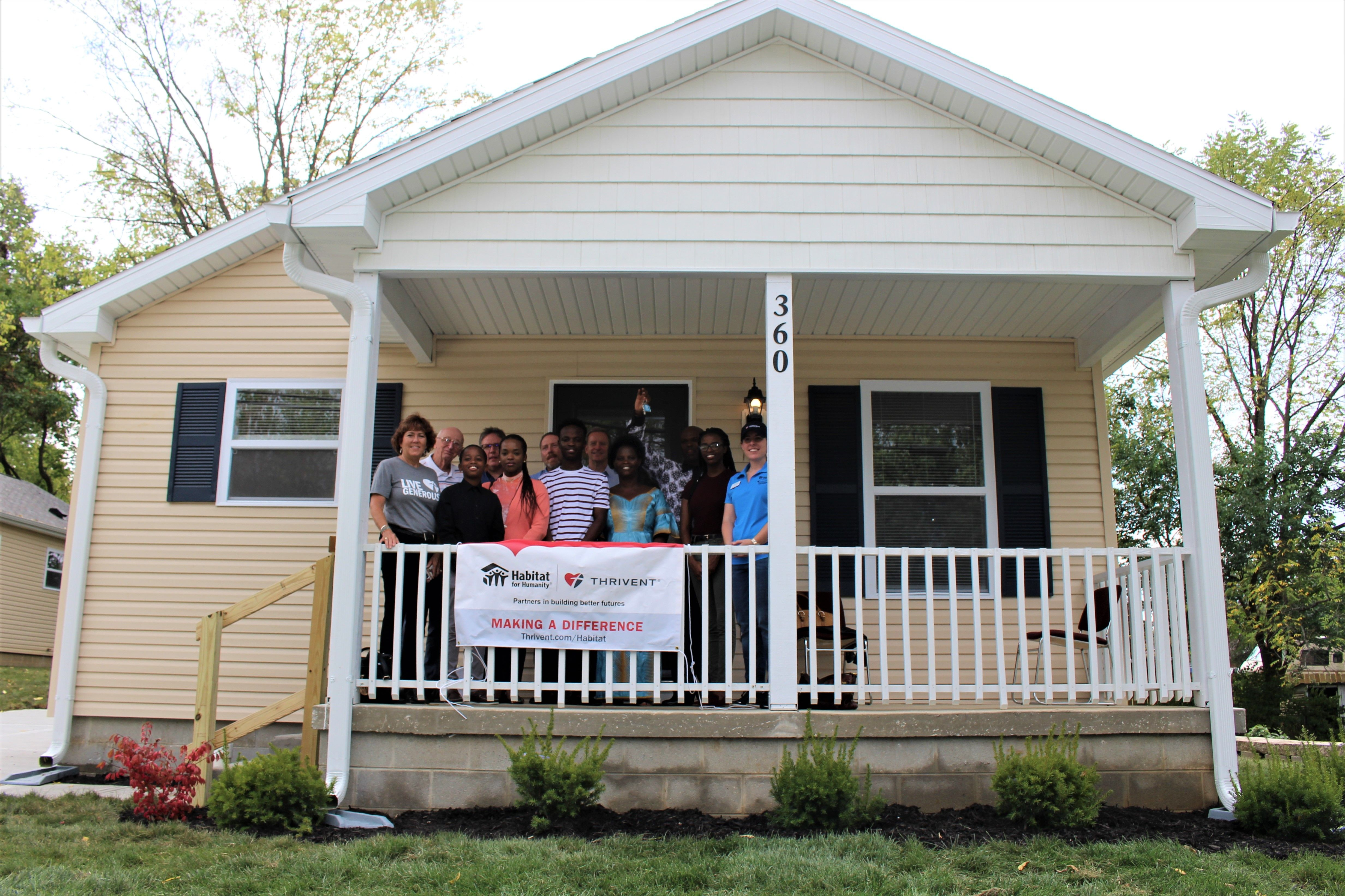 Habitat for Humanity of Greater Dayton and Thrivent Partner to help improve the lives of a local family