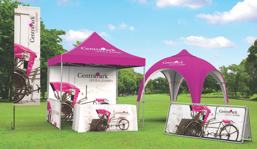 Outdoor Flags, Tents, & Banners
