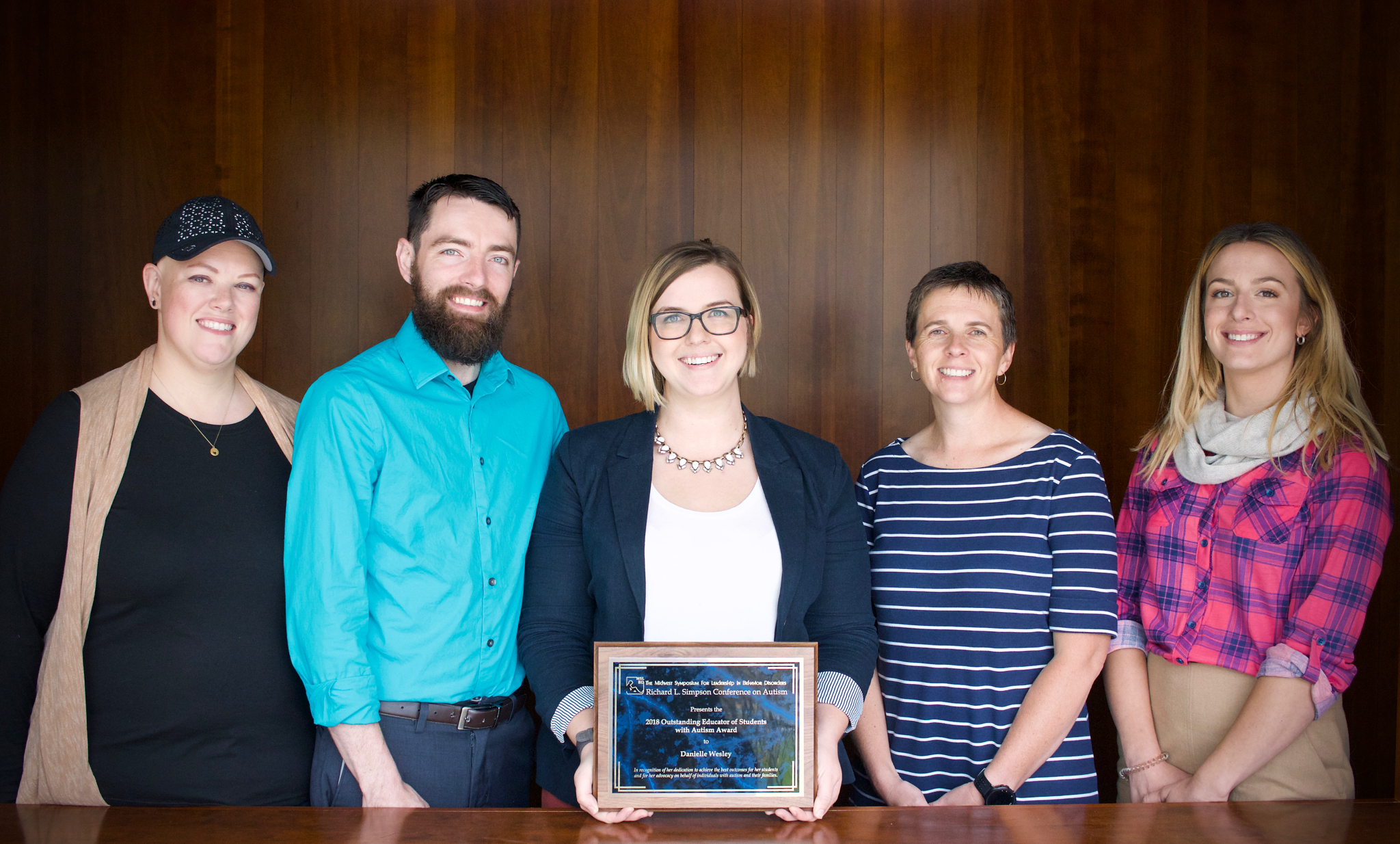 2018 Outstanding Educator of Students with Autism Award - Danielle Wesley