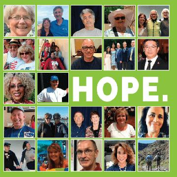 The hopeful side of cancer.