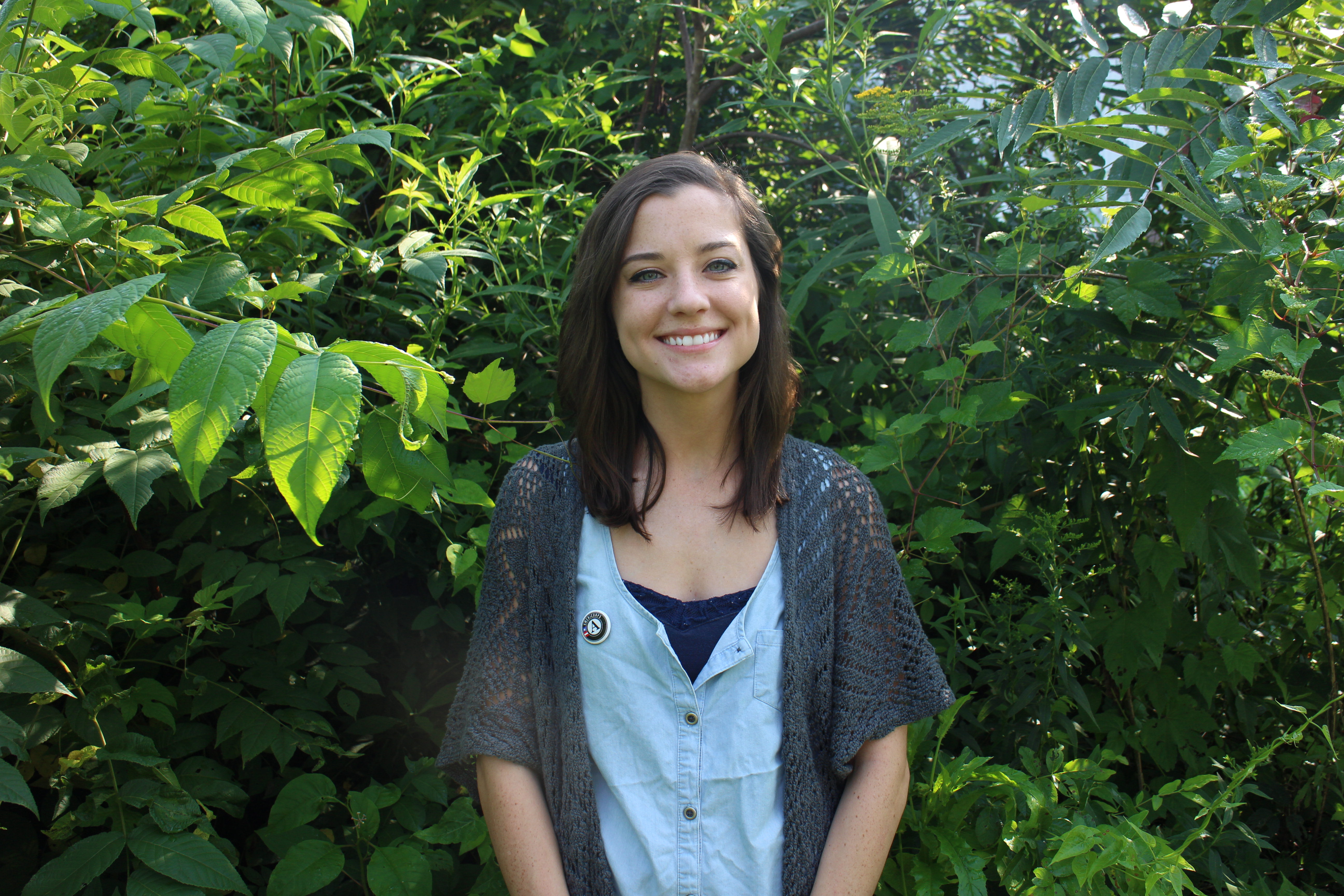 Caleigh McCray, School Gardens Coordinator, COMCorps