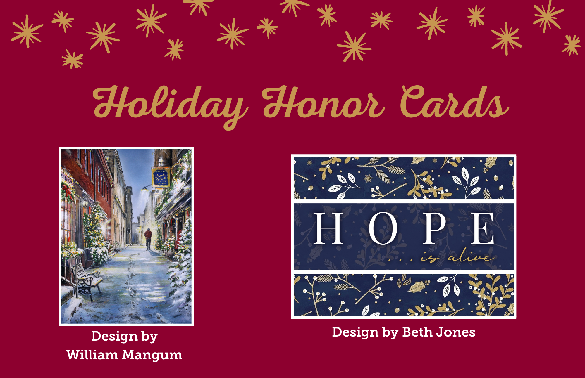 Send a Holiday Card that Means More than Season's Greetings