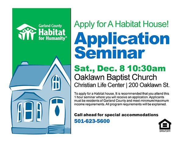Application Seminar