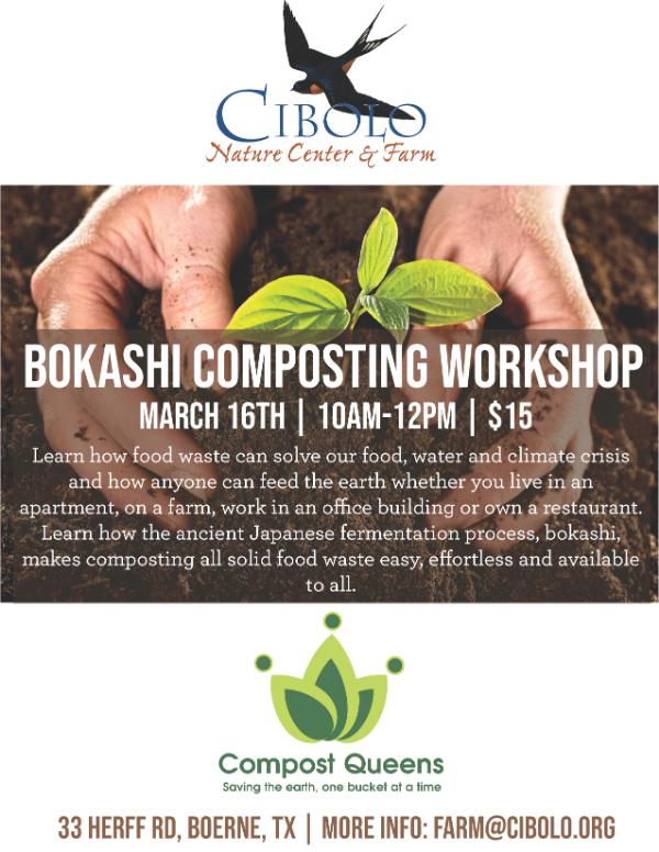 FARM: Bokashi Composting Workshop