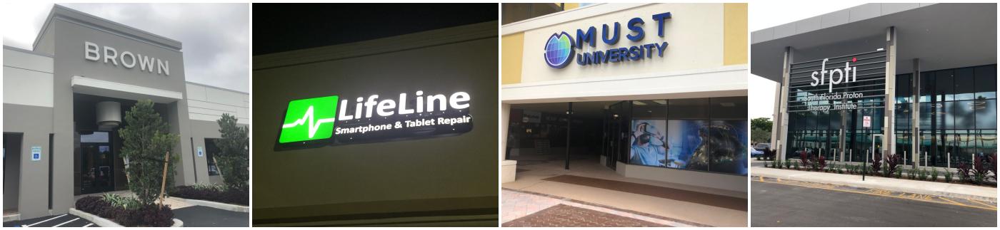 Illuminated Signs | Sign Partners, Sign Company - Boca Raton