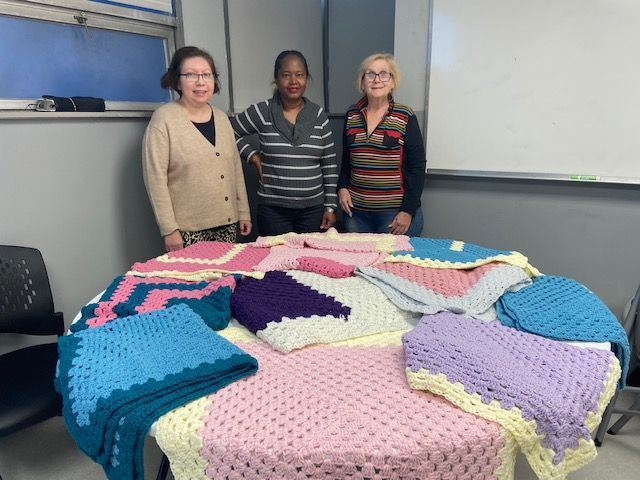 CBH Care Program Participants Deliver 30 Crocheted Blankets to Bergen County's Annual Caring Community Dinner