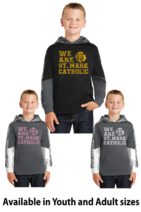 We Are St. Mark Shirt - Mineral Freeze Performance Hoodie