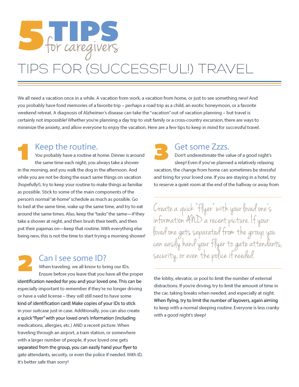 5 Tips for (Successful!) Travel