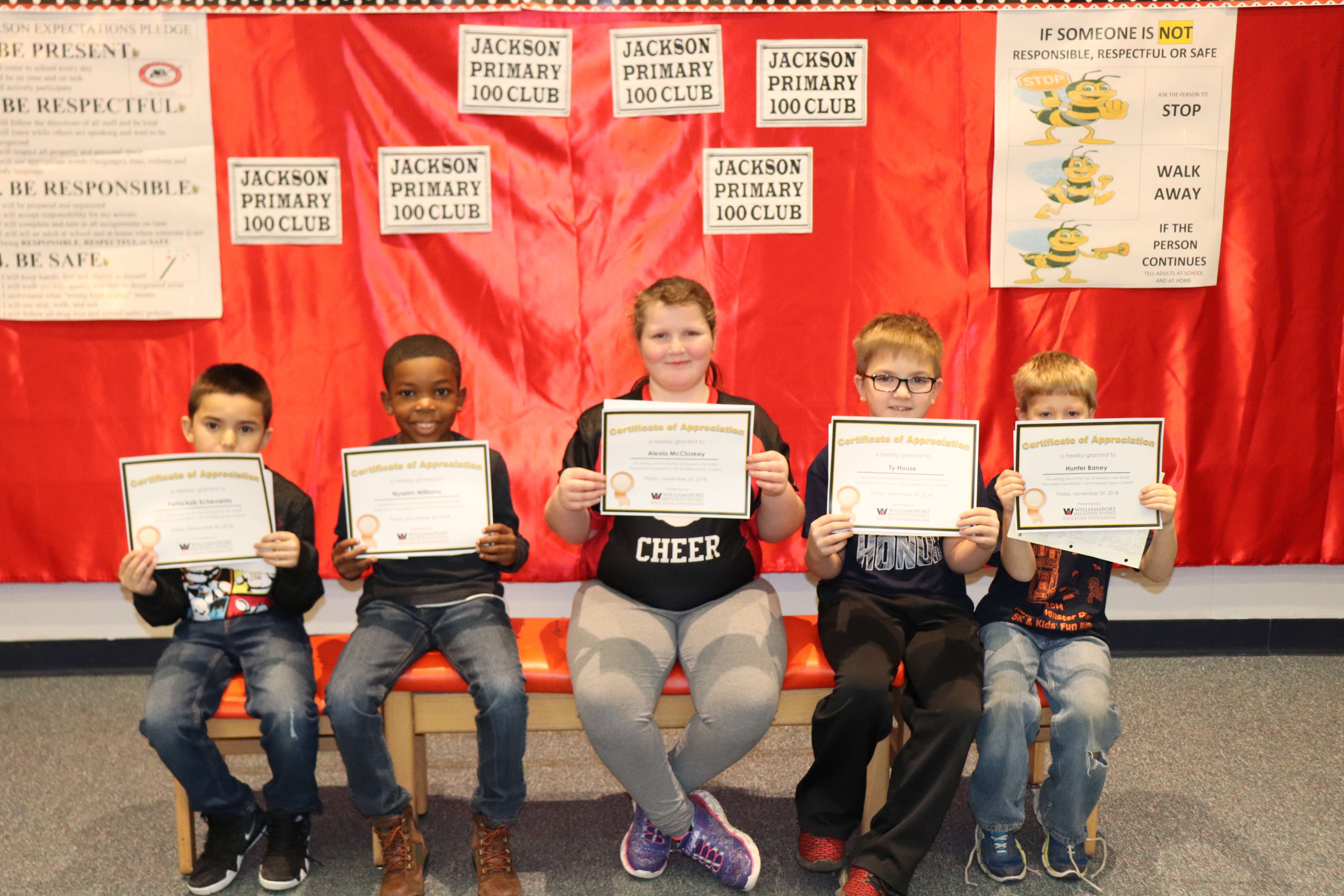 25 Winners Selected in 2018 WASDEF Holiday Essay Contest