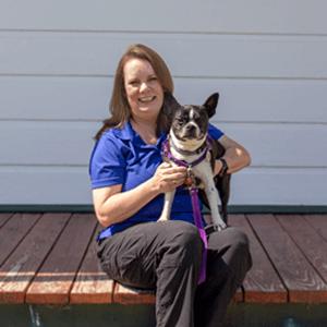Director of Rehabilitation & Canine Education Nicole