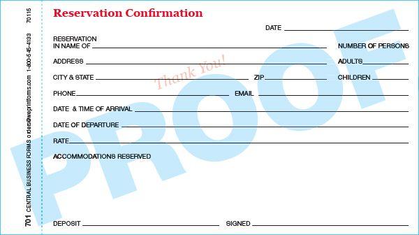 Standard 701 Form