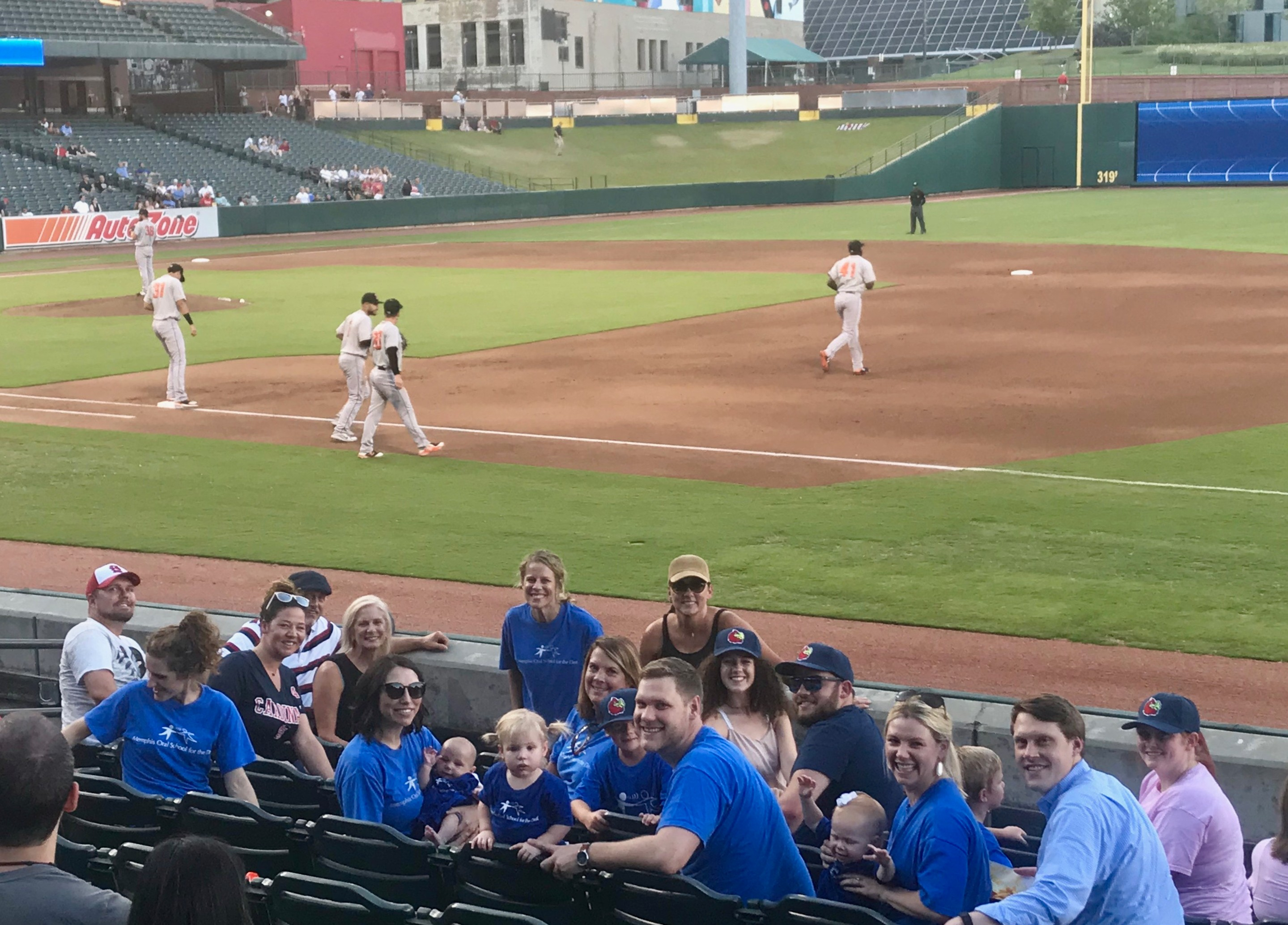 Memphis Redbirds Host MOSD Night!