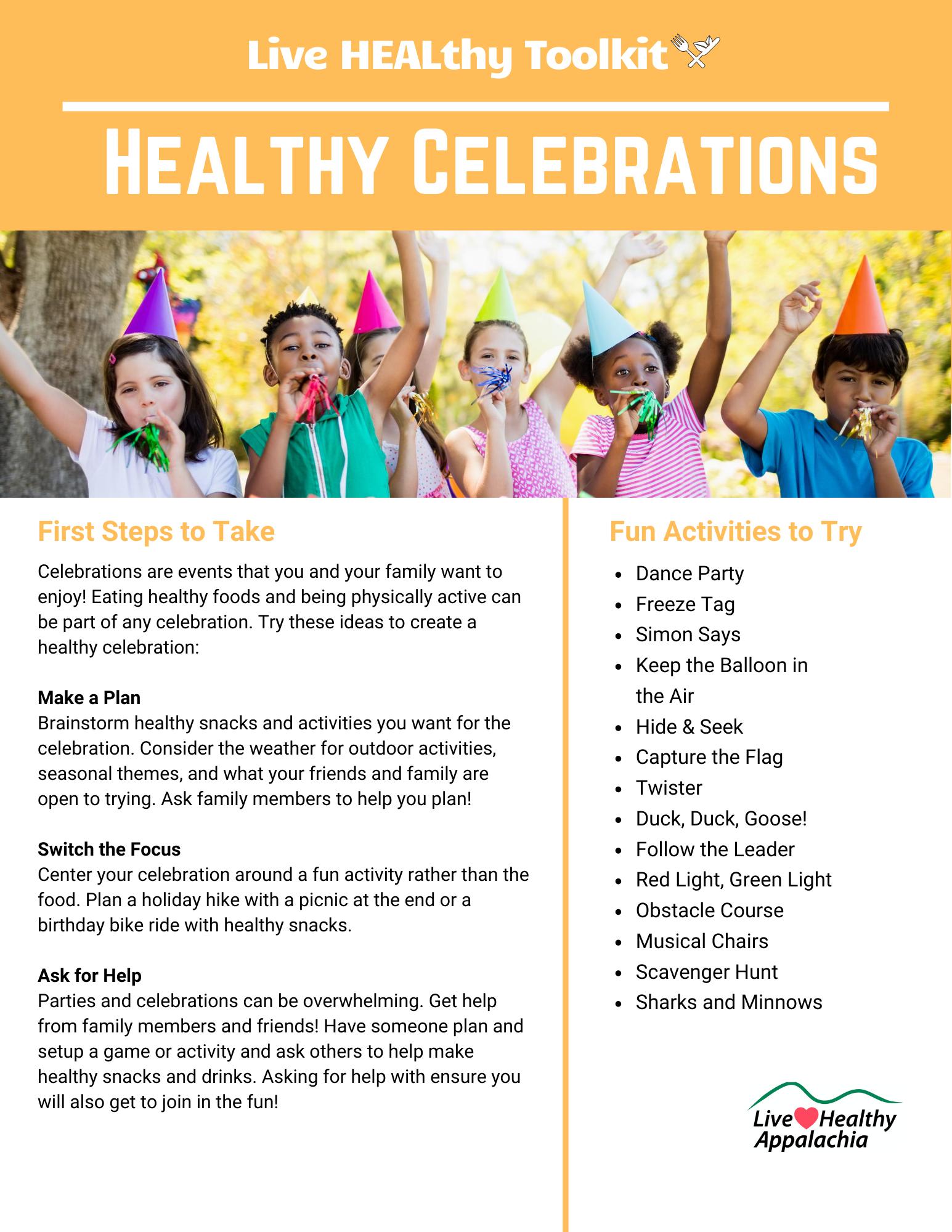 Healthy Celebrations