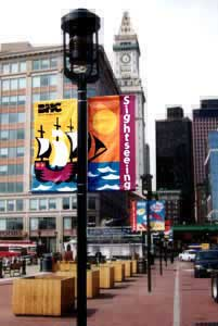 City Pole Banners