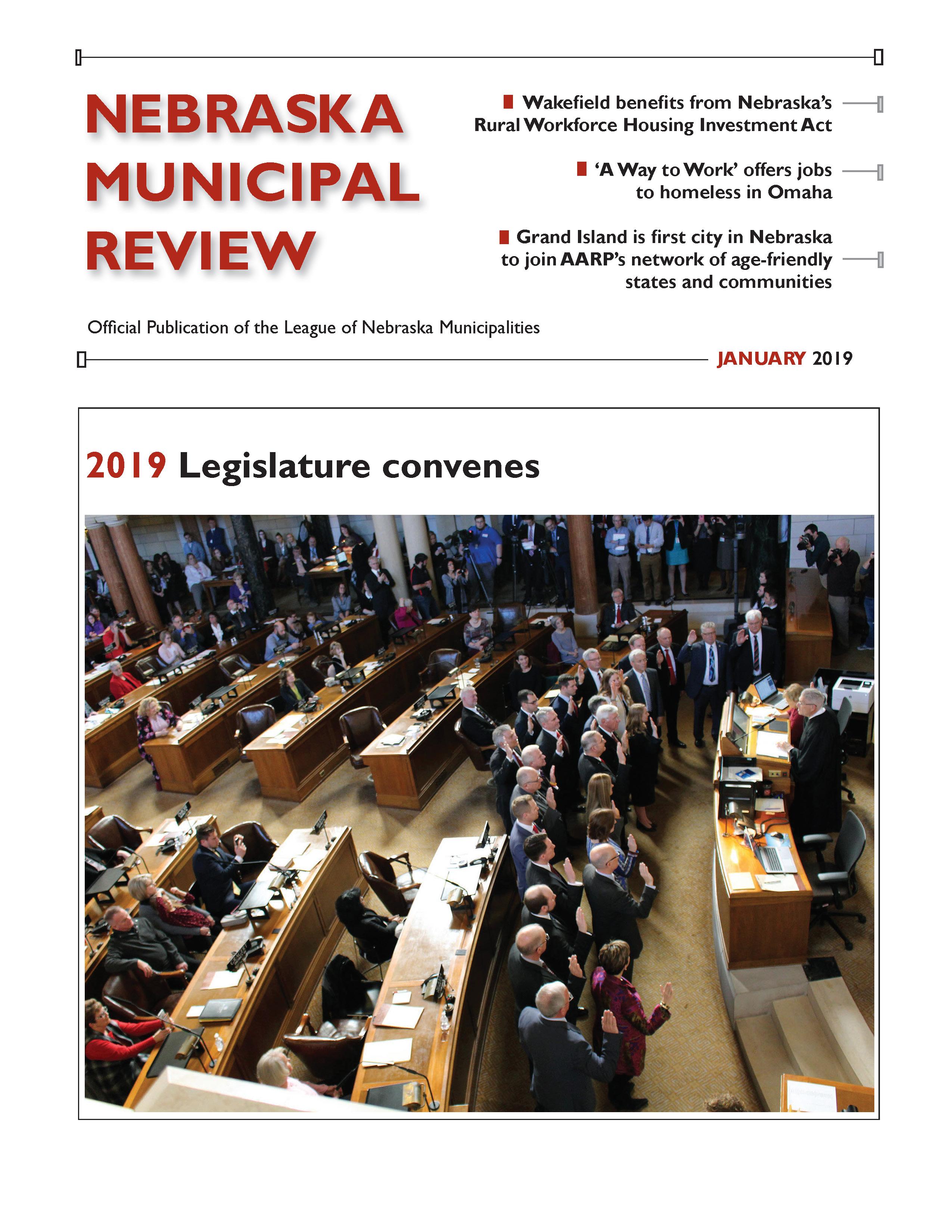 Nebraska Municipal Review