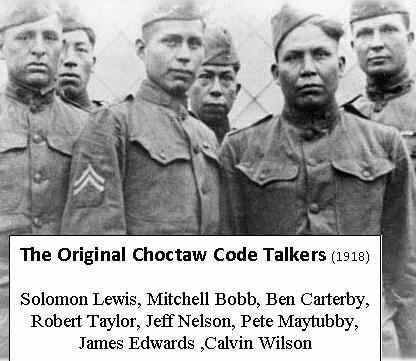 1918: First Combat Employment of Choctaw Codetalkers