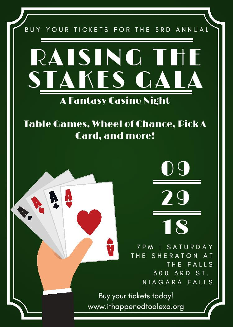 Join us at the Raising the Stakes Gala!