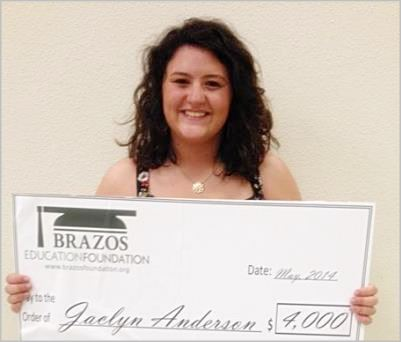 Jaclyn Anderson - Mart High School Graduate