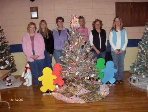 Candyland Tree for Relay for Life