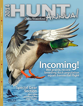 Delta Waterfowl's 2014 Hunt Annual Coming Soon