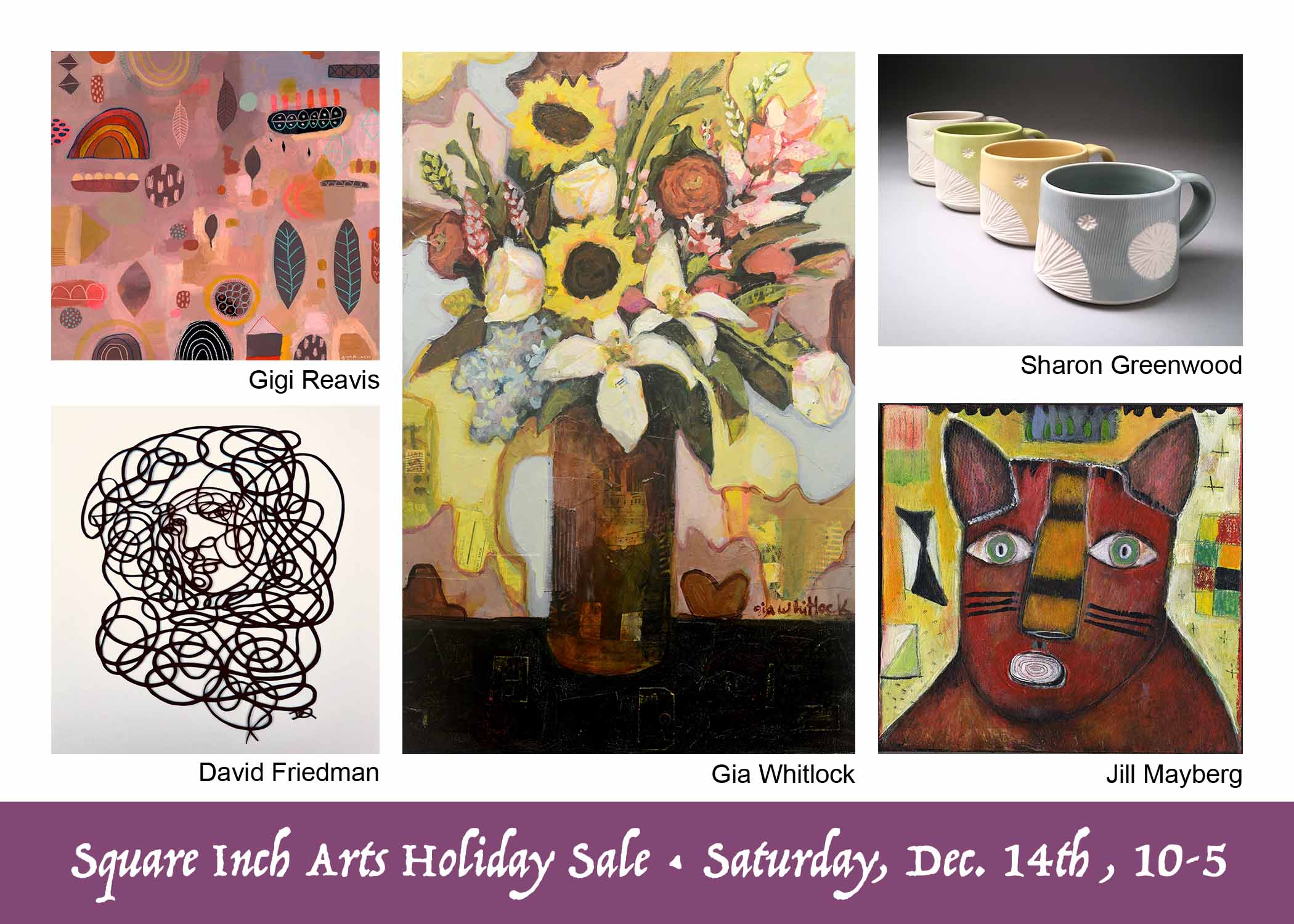 Square Inch Arts Holiday Sale