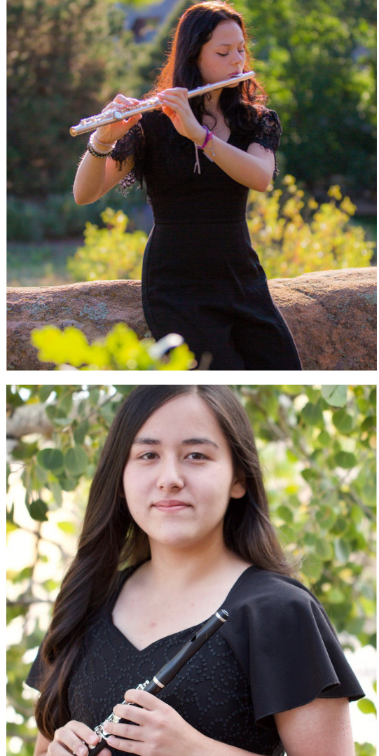 Tori Rognerud  and Hana Flood - 2020 Young Artists Orchestra Wind Concerto Competition Winners