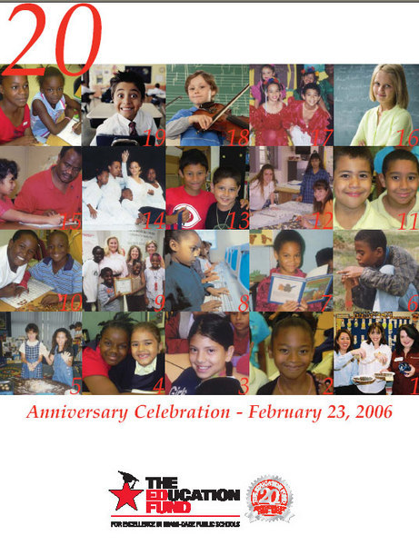The Education Fund 20th Anniversary Program