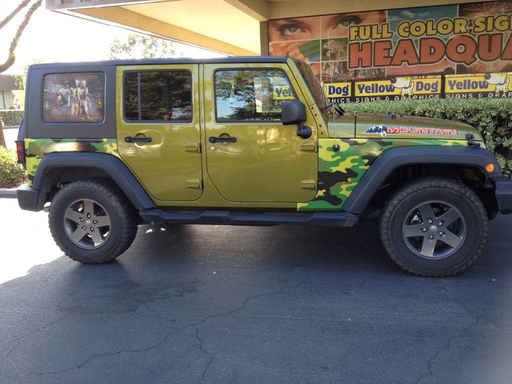 Jeep Partial Wrap