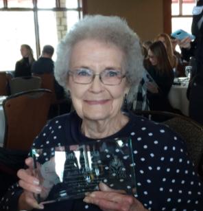 Humbled and Honored:  Ruth McKinstry Wins ServeNebraska's Step Forward  Lifetime Achievement Award