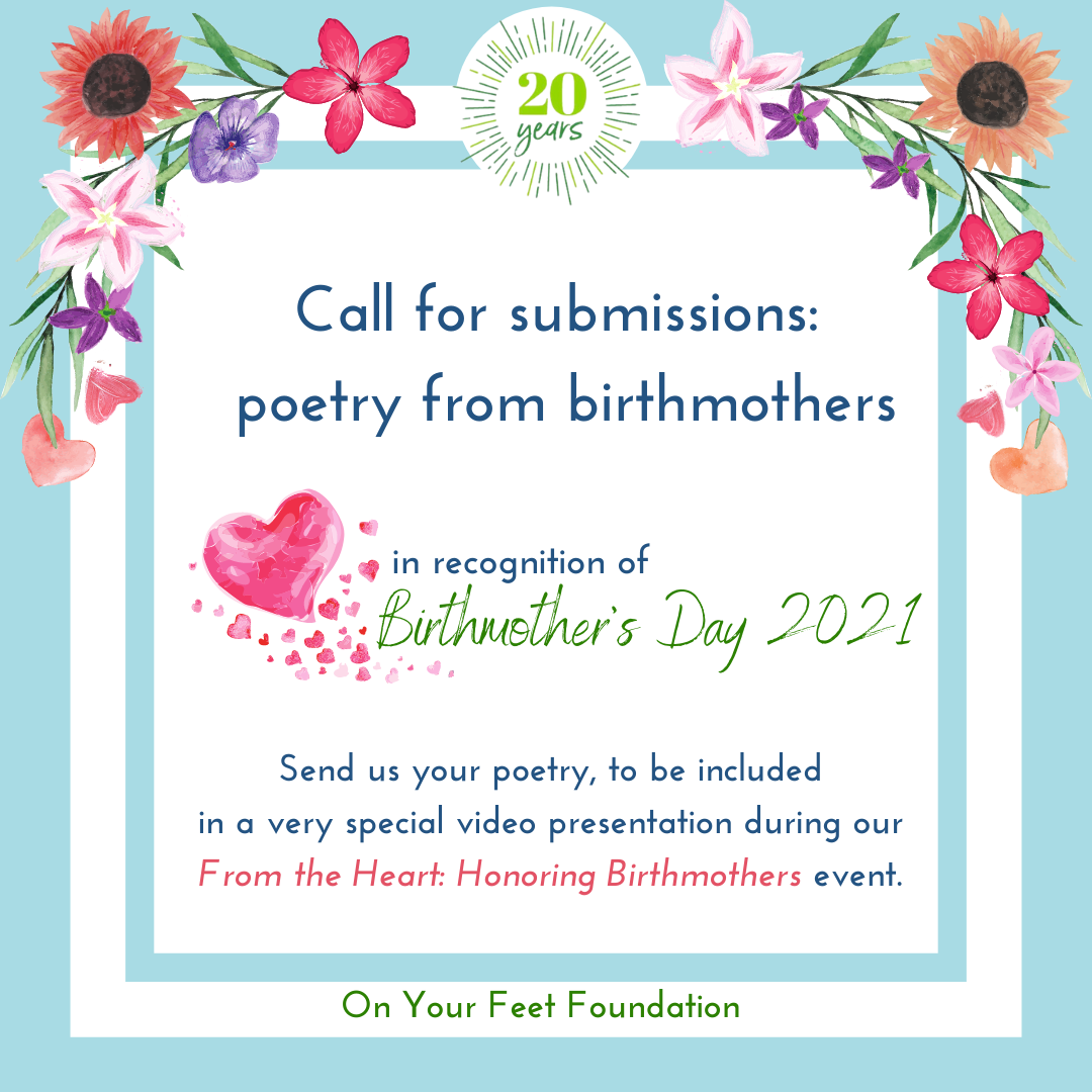From the Heart: Honoring Birthmothers, a Birthmother's Day 2021 Celebration