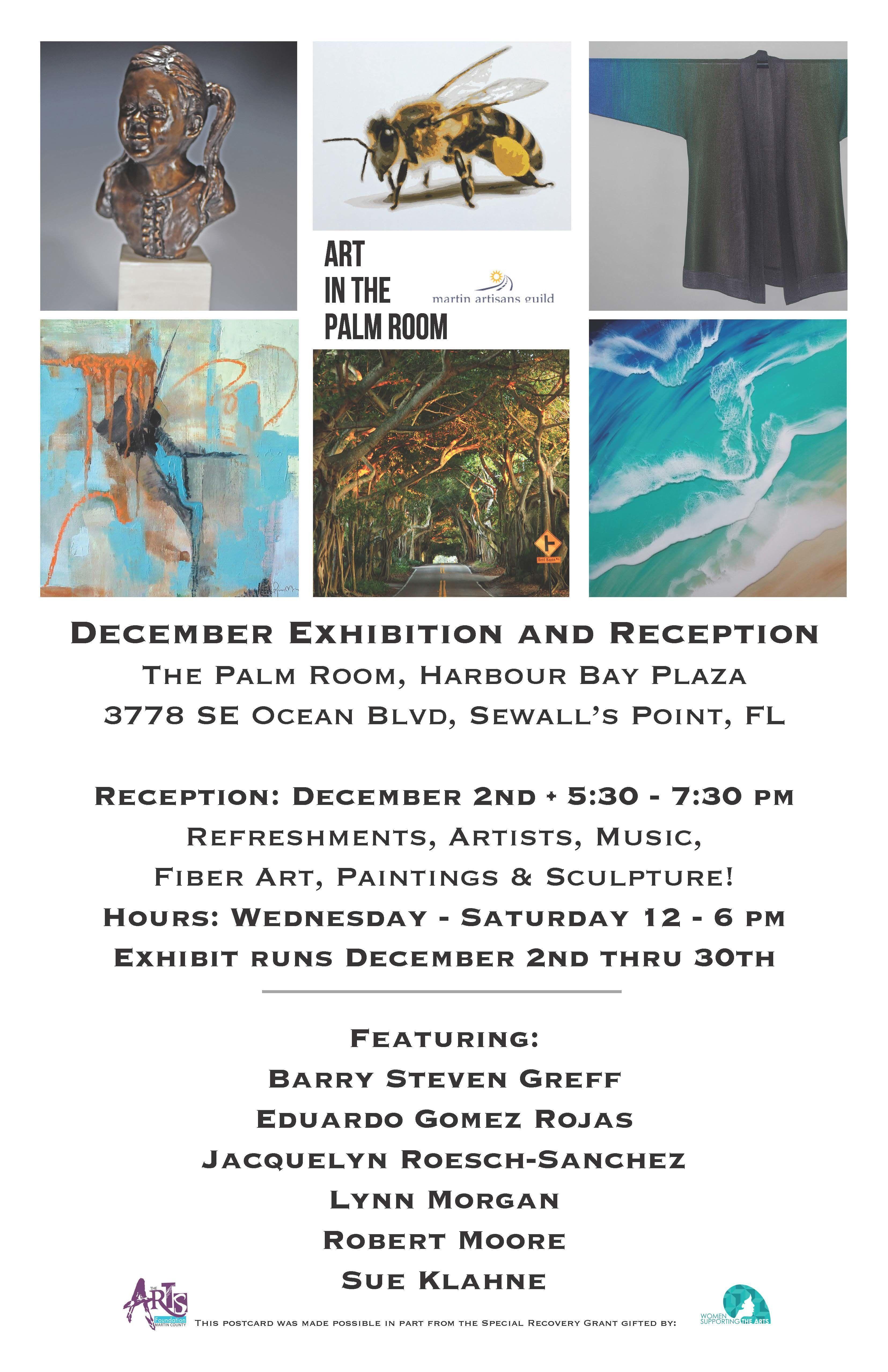 Martin Artisans Guild December Exhibition
