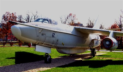 EA-3B Skywarrior at National Vigilance Park (National Cryptologic Museum)