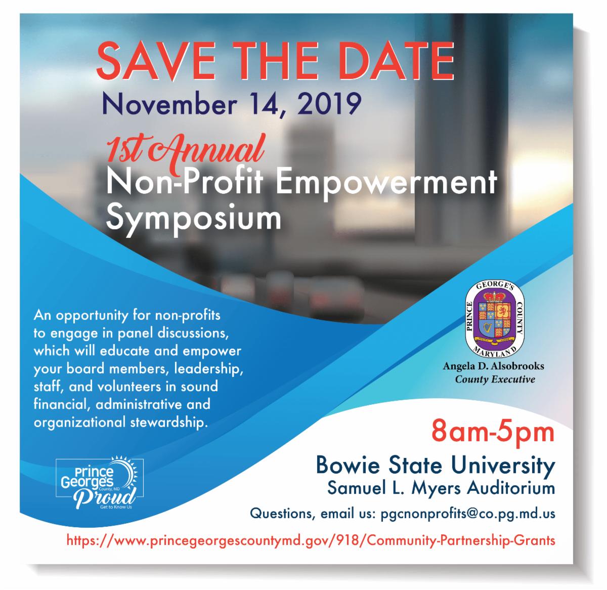 First Annual Nonprofit Empowerment Symposium