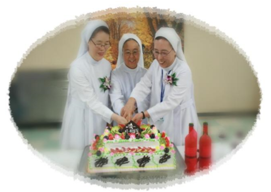 Installation of New C.E.O of Daegu Fatima Hospital, SR. Anita Park