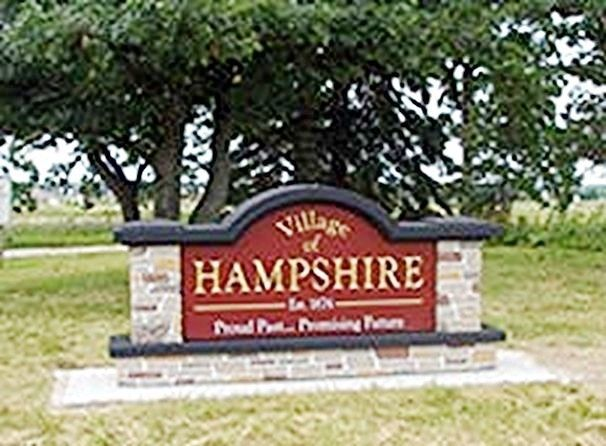 F15008 - Village Entrance Monument Sign
