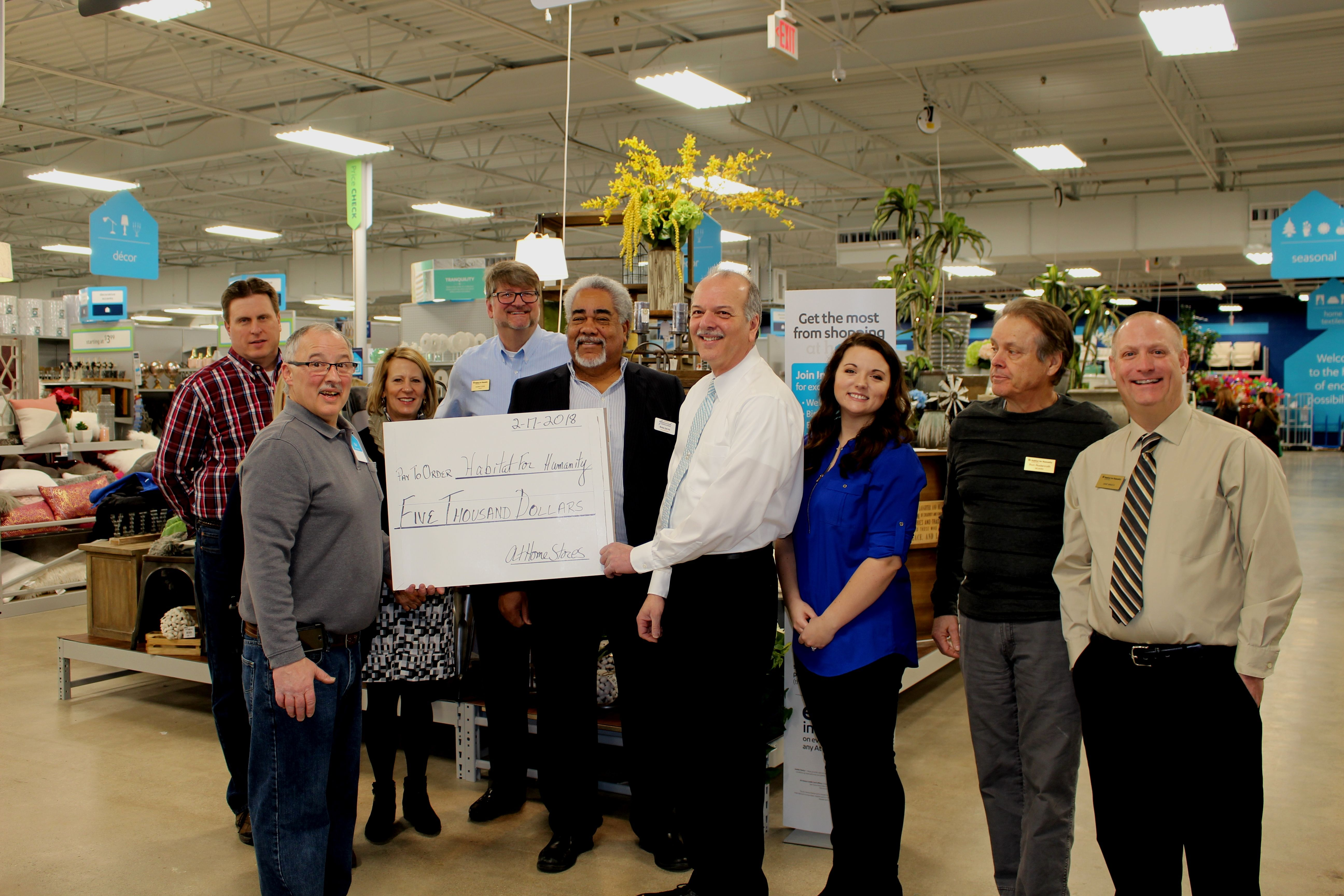 New At Home Store Partners with Habitat for Humanity of Greater Dayton