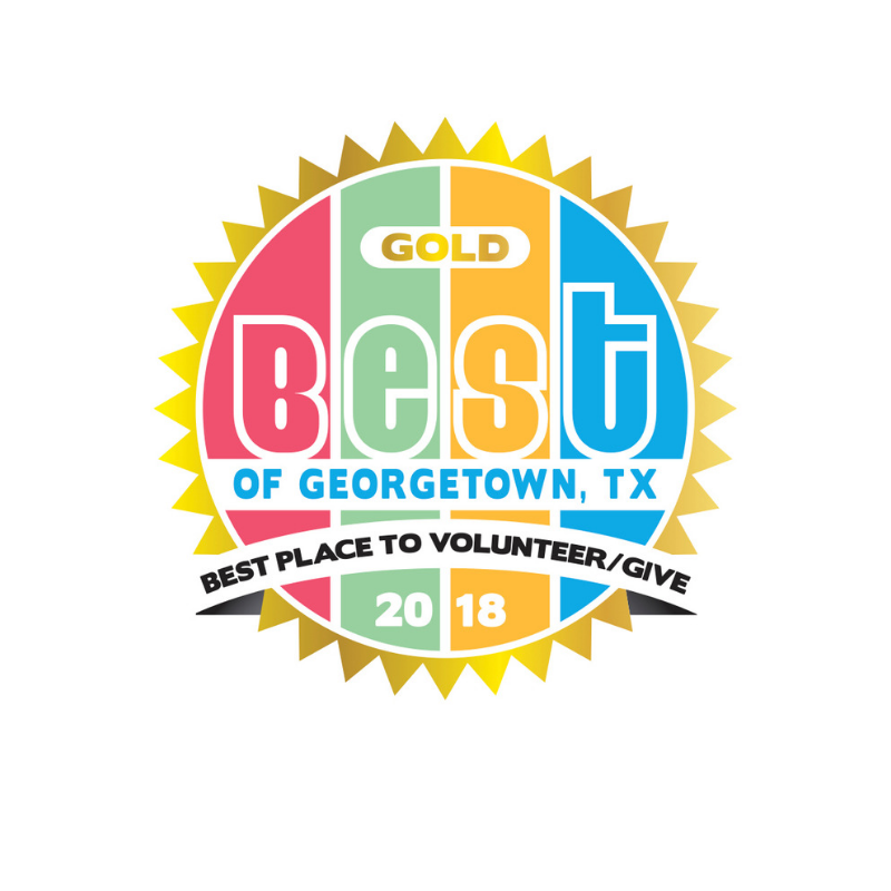 Voted best place to Give/Volunteer 8 years in a row!