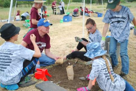 State Historical Society archaeology camp registration opens May 1