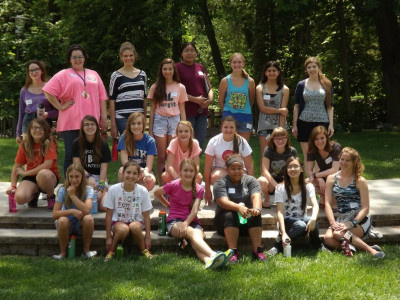 First campers - 2014