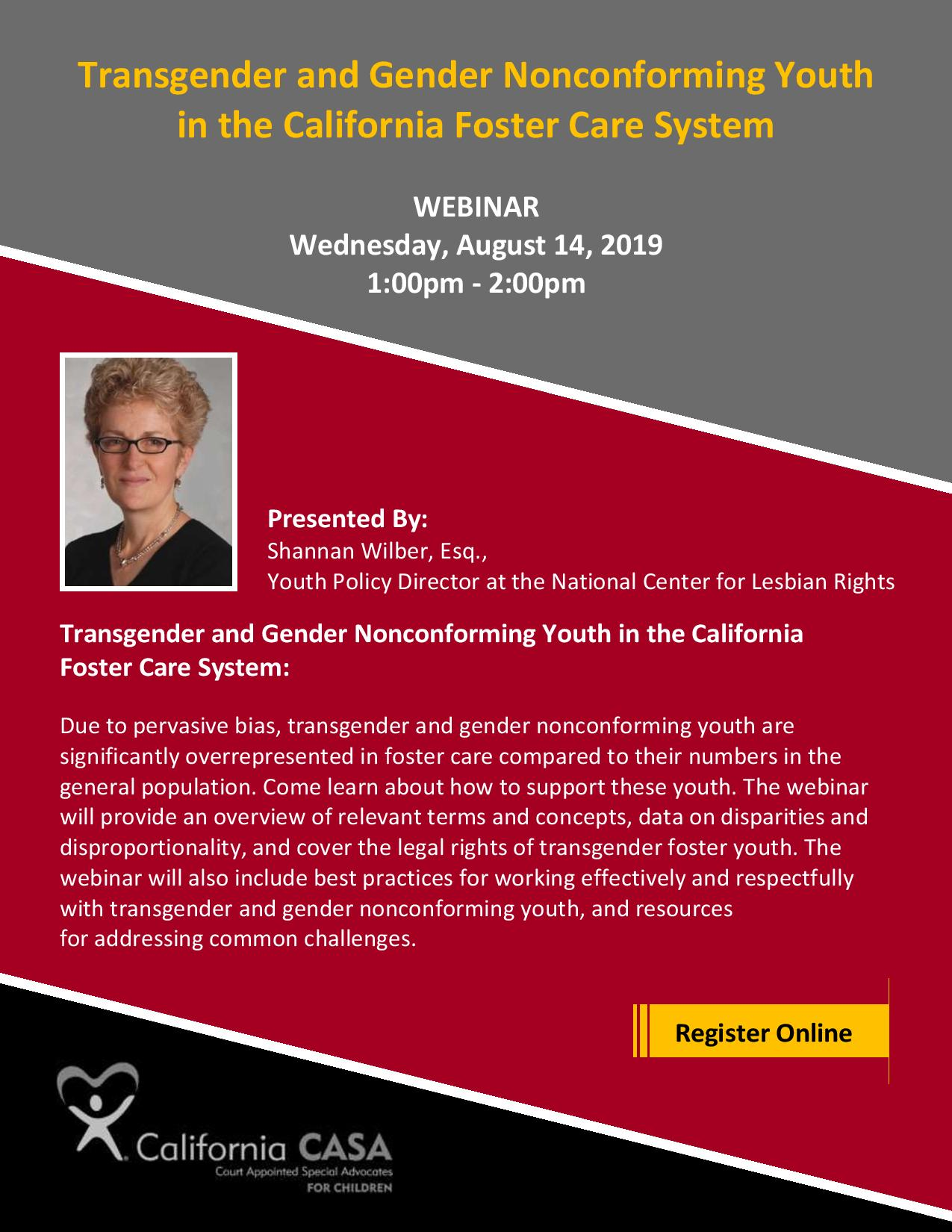 Register today for this FREE webinar on Wednesday August 14th @ 1PM
