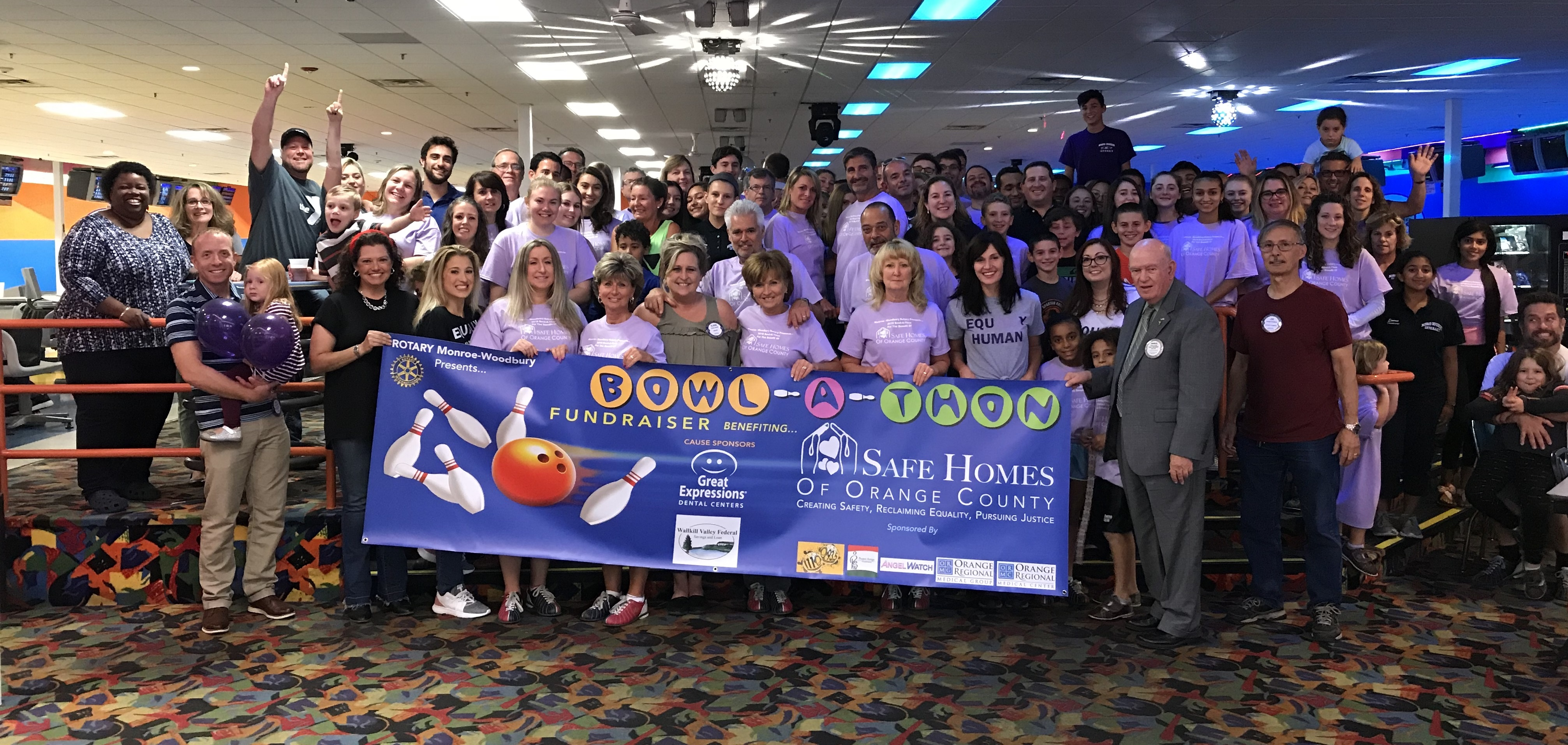 Monroe-Woodbury Rotary's 4th Annual Bowl-A-Thon to benefit Safe Homes