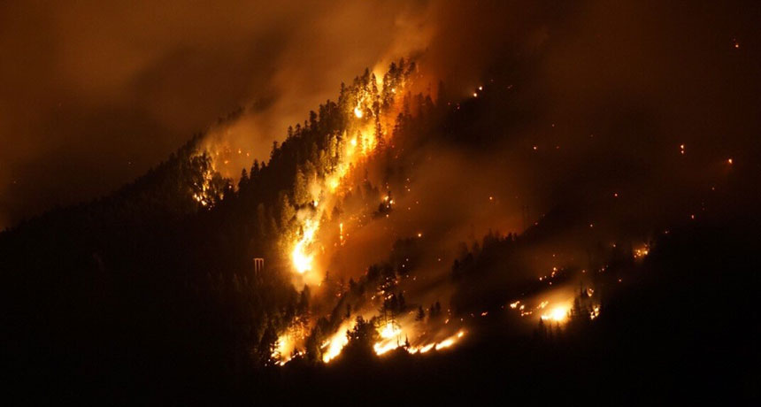 Wildfires are making extreme air pollution even worse in the northwest U.S.