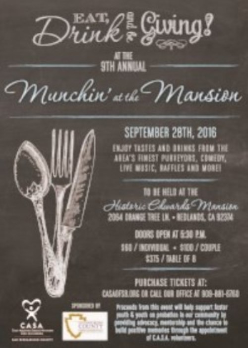 Munchin at the Mansion 2016