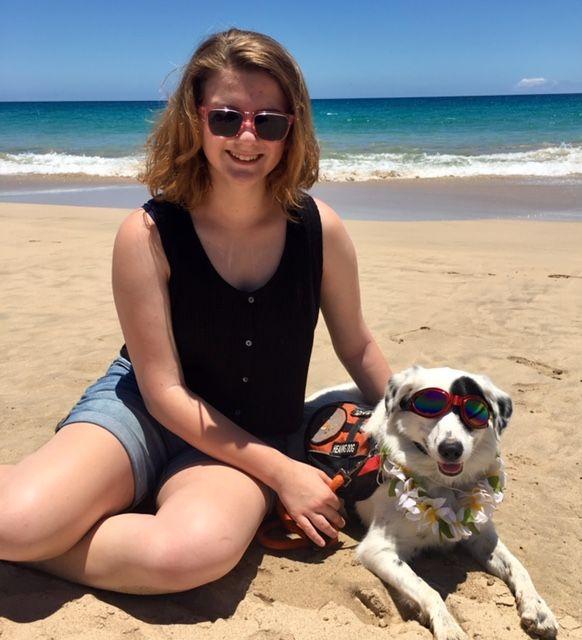 Portia visits Hawaii