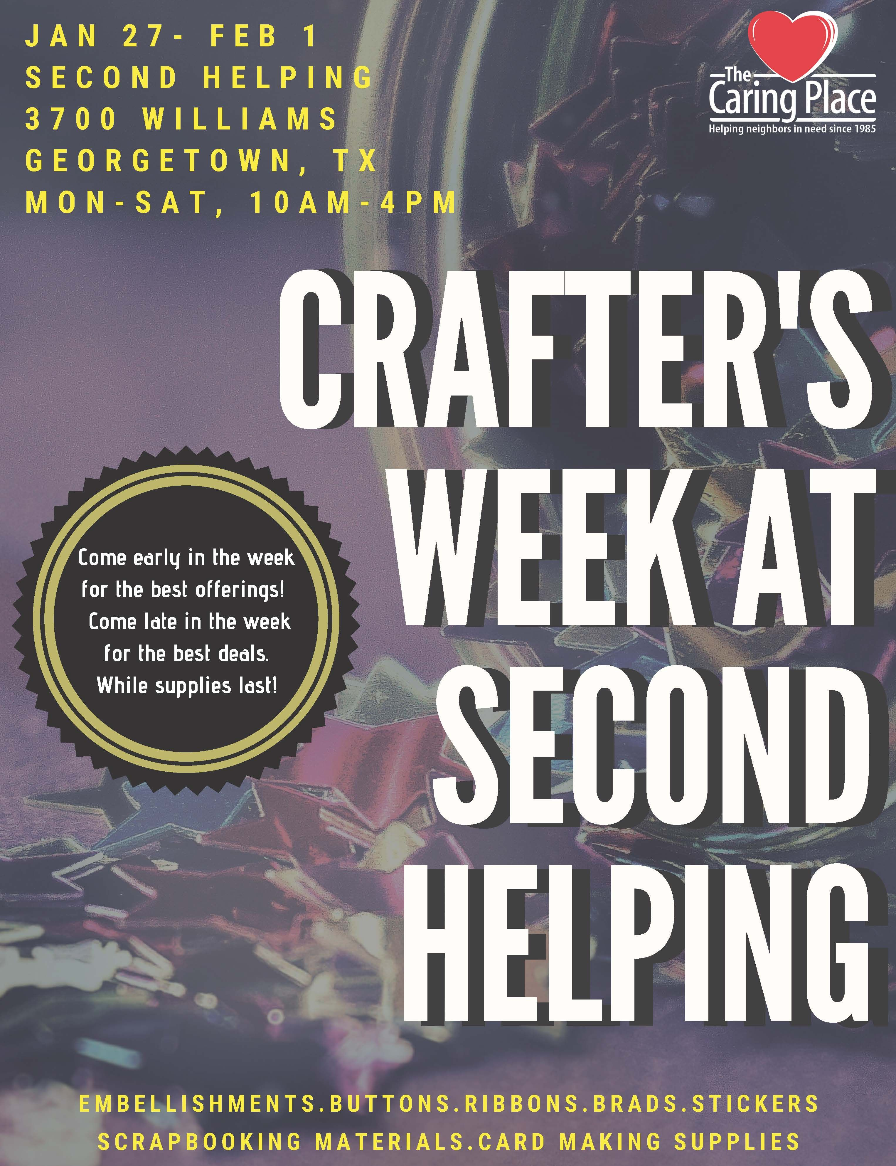 Crafter's Week