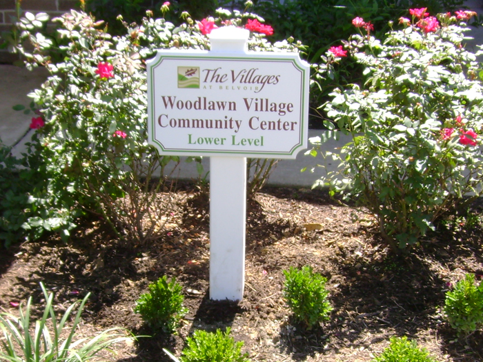 The Villages Community Sign