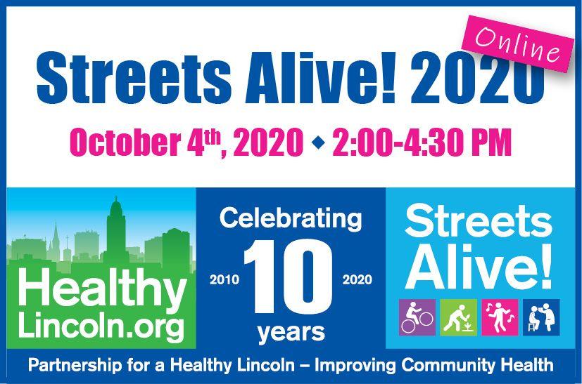 Streets Alive Online 2020