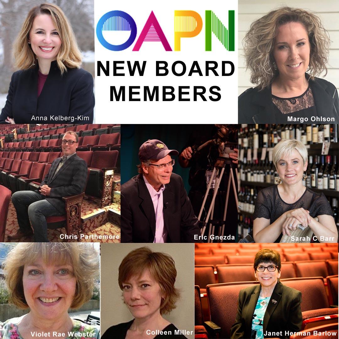 OAPN Announces New Board Members