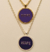 Hope Pendants in Enamel