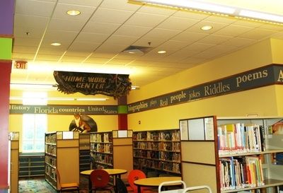 Library Wall Mural 4